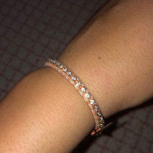 Jcrew orange diamond bracelet